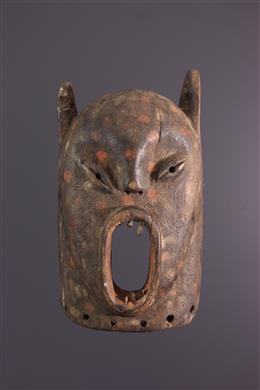 African art - Luba / Zela zoomorphic mask