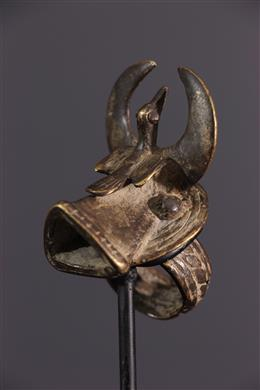 Senufo silence ring in copper