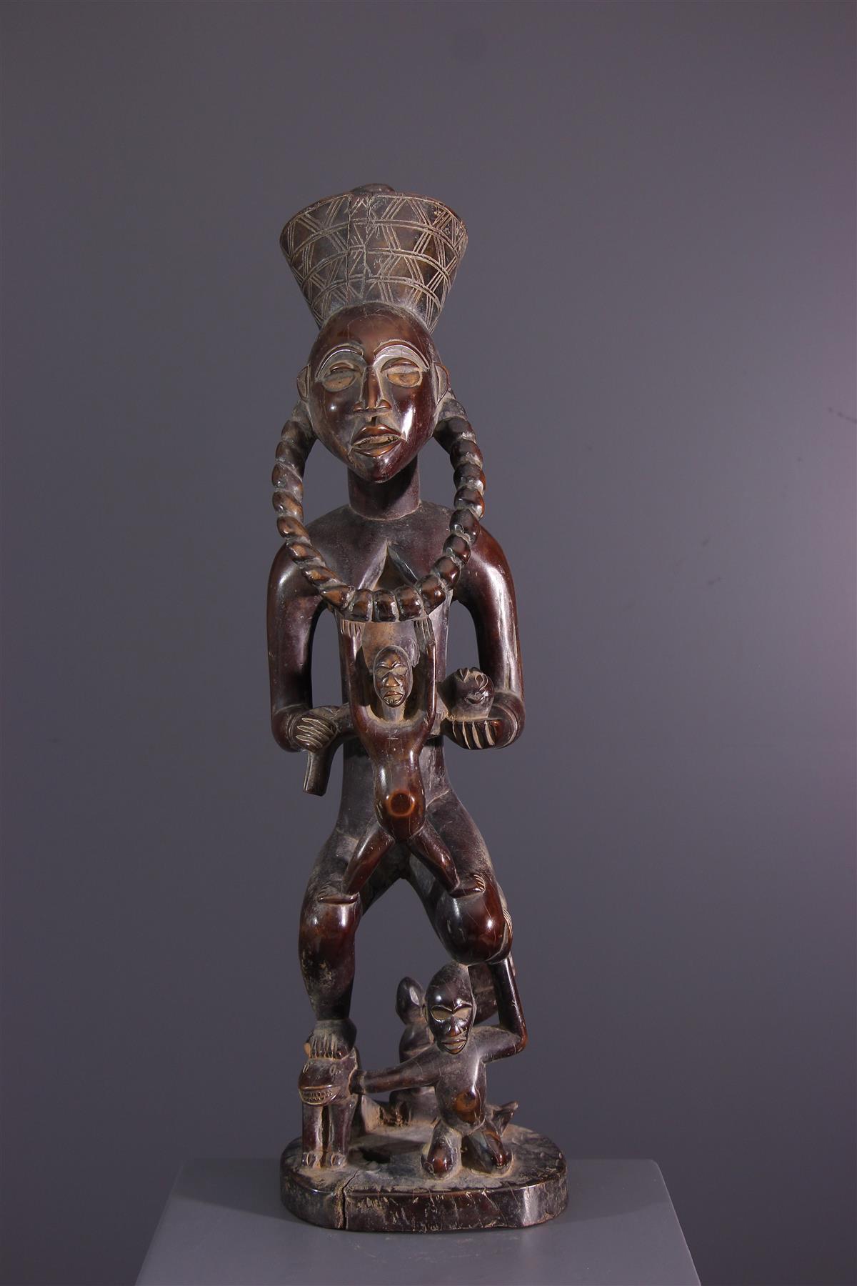 Statue of Kongo - African art