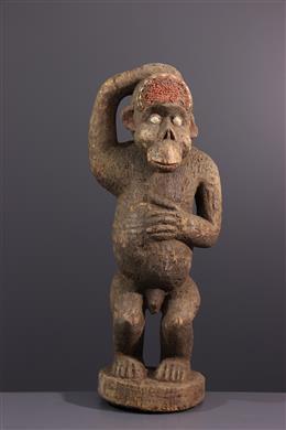 Boulou, Bulu ape statue