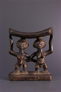 African art - Luba neck support