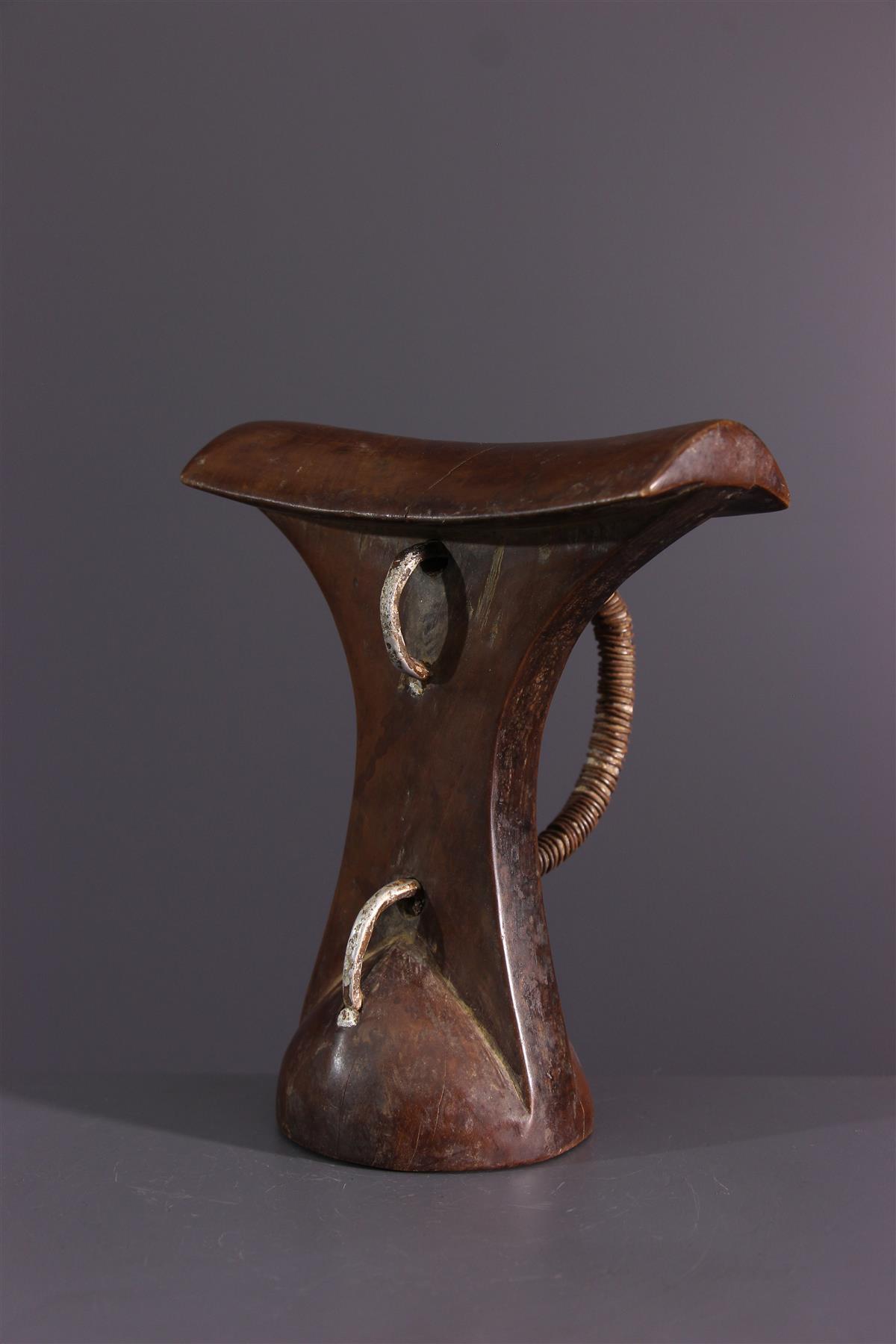 Turkana neck support - African art