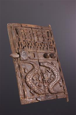 African art - Dogon shutter door