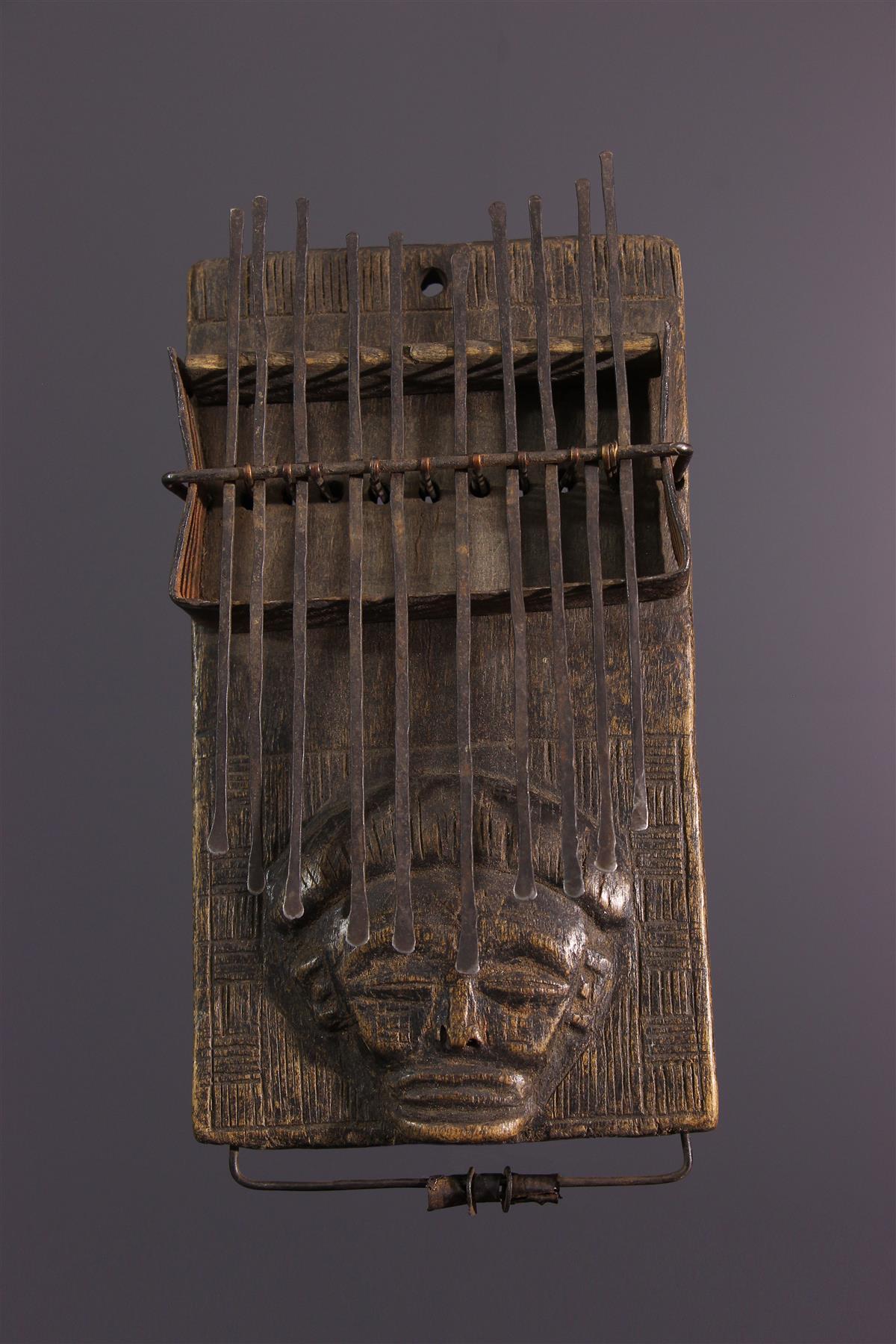 Lamellophone Chokwe - African art