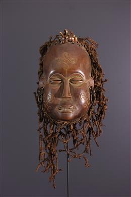 Mask Luvale, Lwena, Pwevo