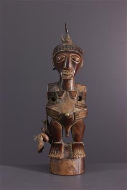 African art - Fetish statuette Nkisi of Songye