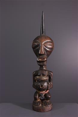 African art - Nkishi fetish statuette of Songye