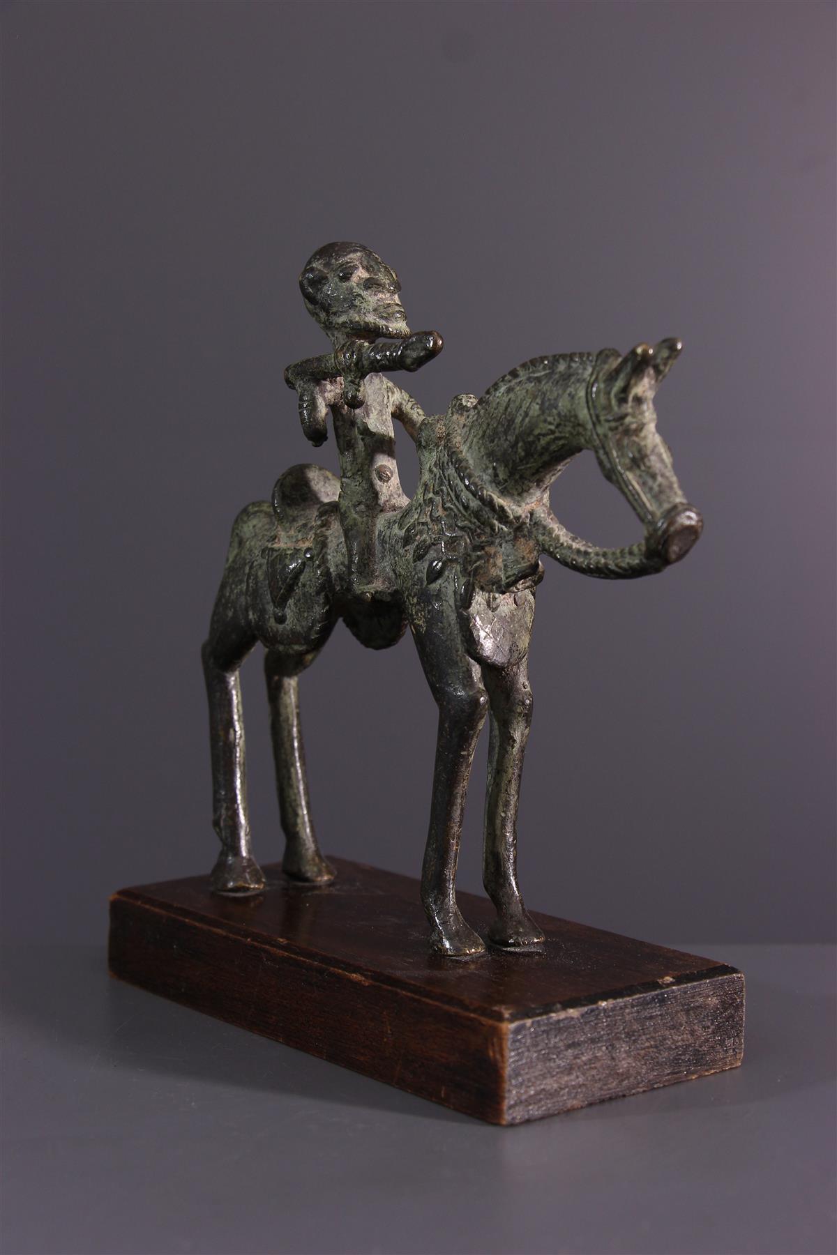 Dogon Bronze - African art