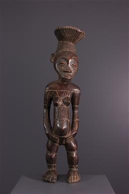 African art - Female figure Nebeli Mangbetu