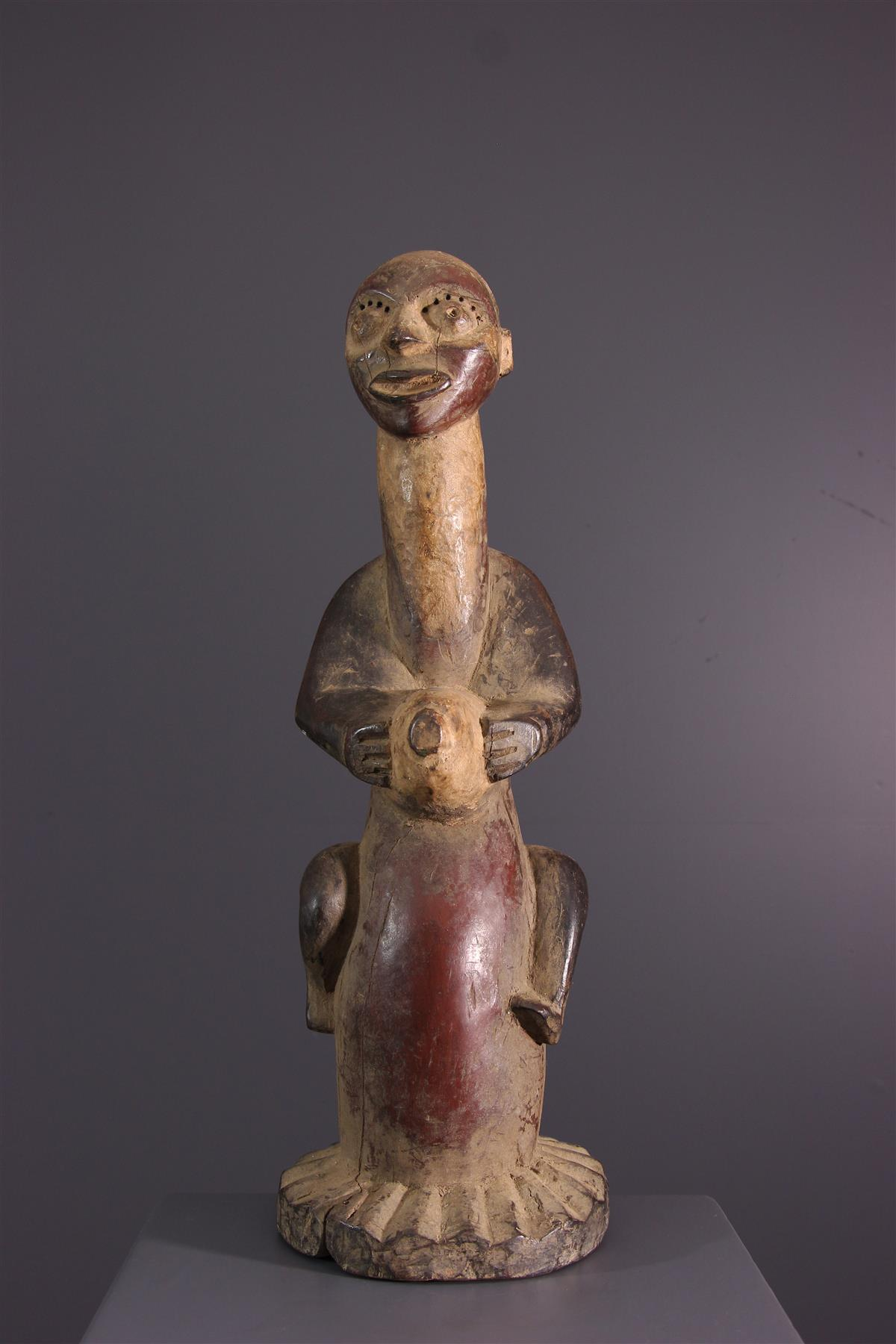 Statue Nkanu - African art