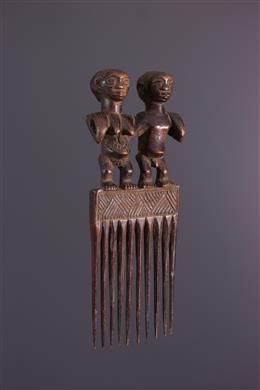 African art - Luba comb