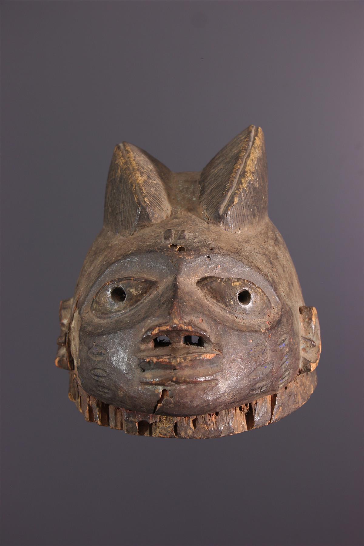Masque Gelede - African art