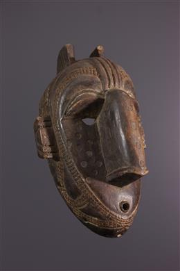 African art - Baga face mask