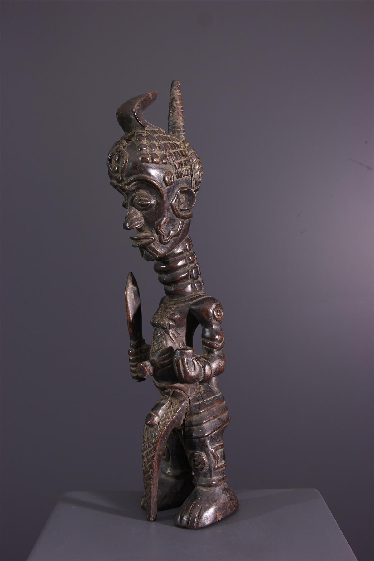 Statue Luluwa - African art