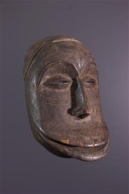African art - Masque Hemba Market Muntu