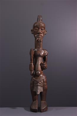 African art - Statue Lulua