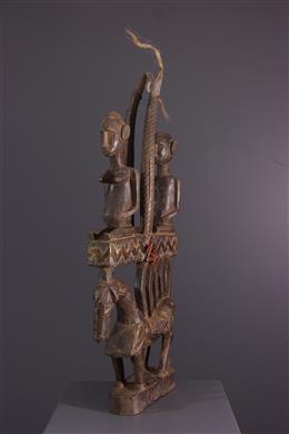 African art - Crest Ci wara Bamana figurative