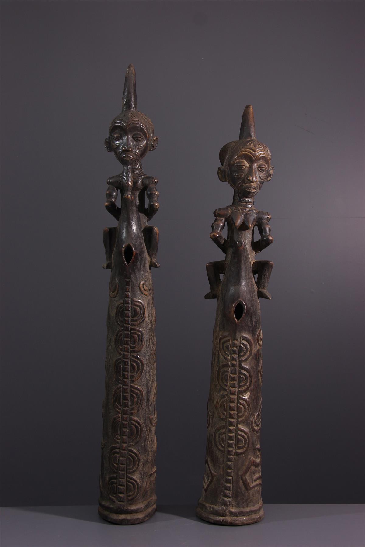Luluwa Hearts - African art