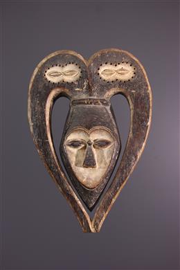 African art - Kwele Ekuk Mask, Pipibudze