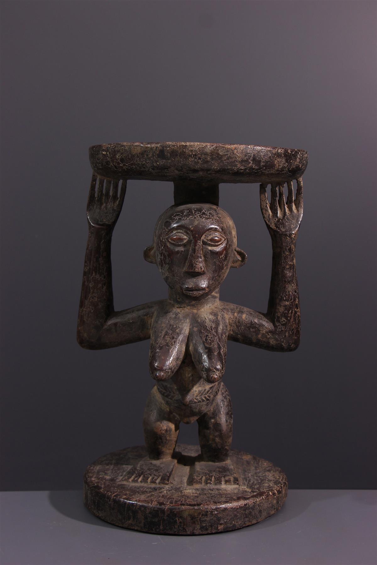 Hemba Seat - African art