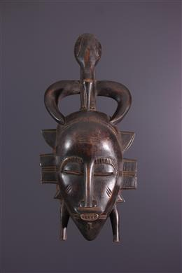 African art - Mask Senoufo Kpeliye