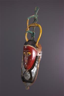 African art - Zaouli Dance Gouro Mask