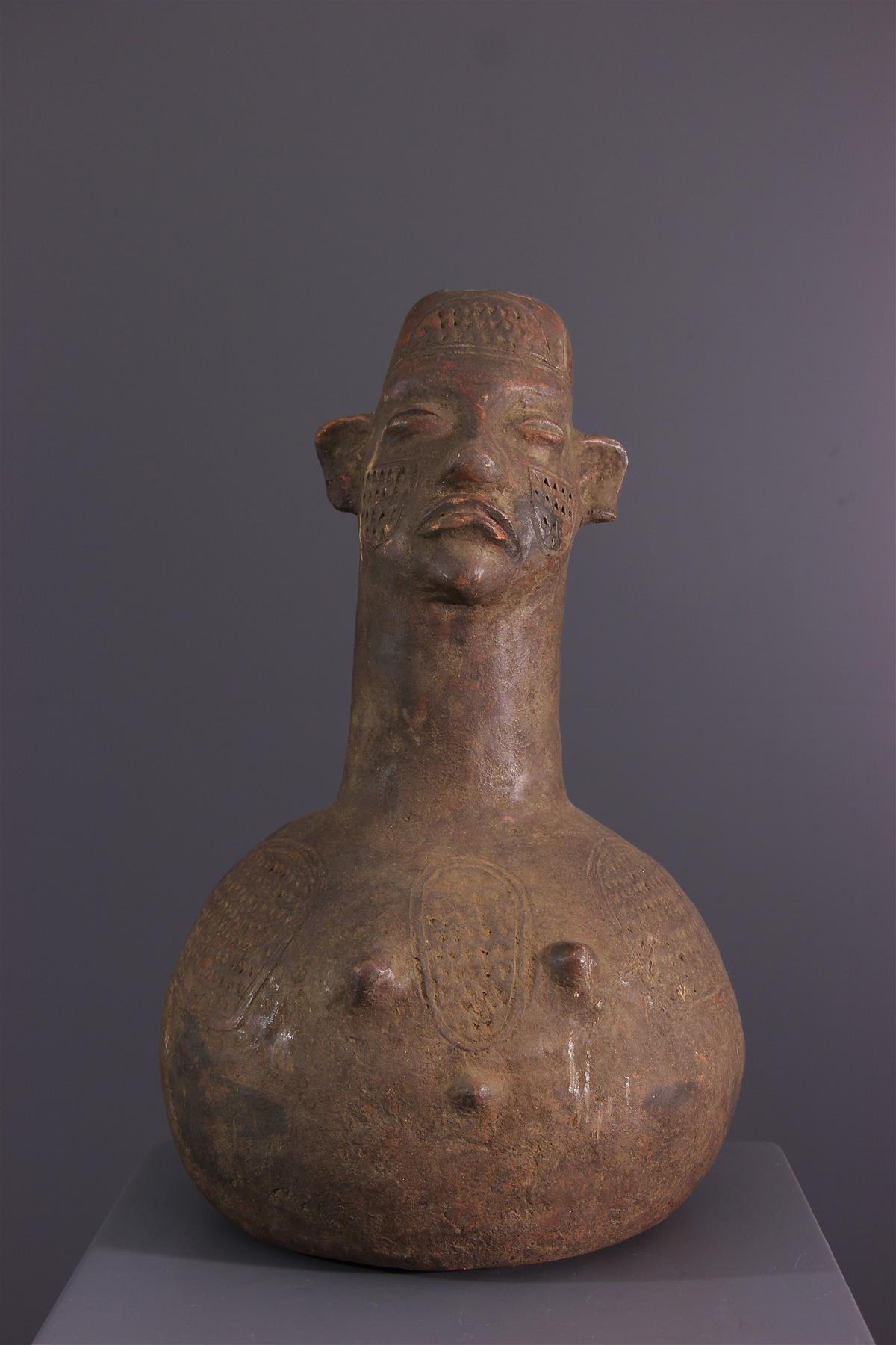 Boa container - African art