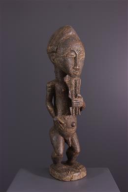 African art - Baoulé statue Asia usu