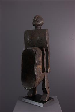 Statue figurative cup Gbene Koro