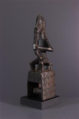 African art - Gouro, Guro, Kono loom pulley