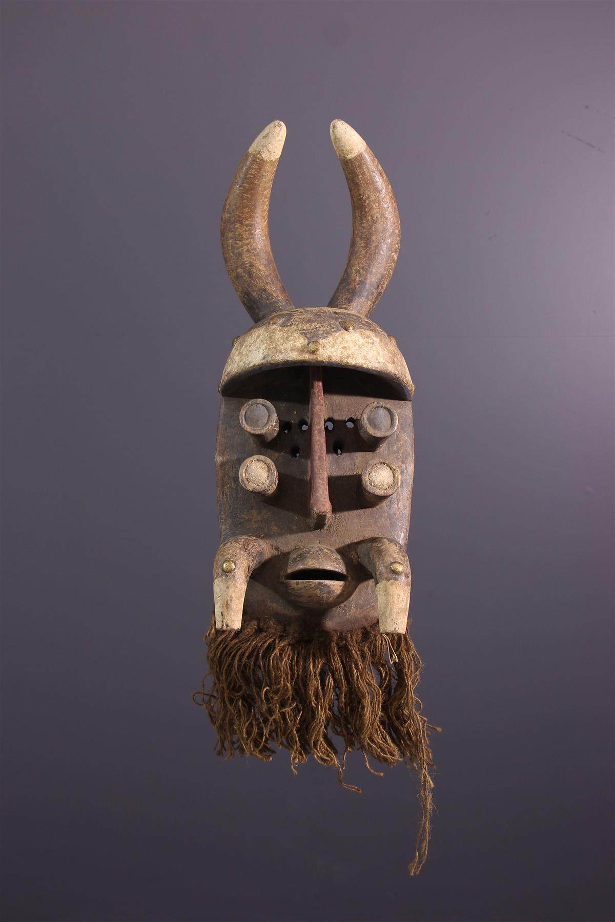 Grebo mask - African art