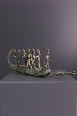 African art - Dogon pirogue