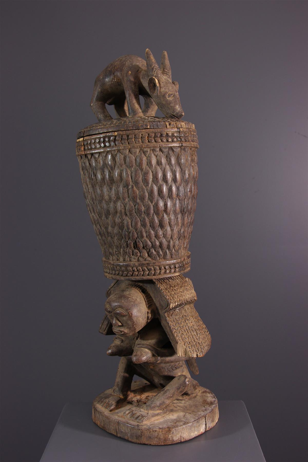 Luba cup - African art