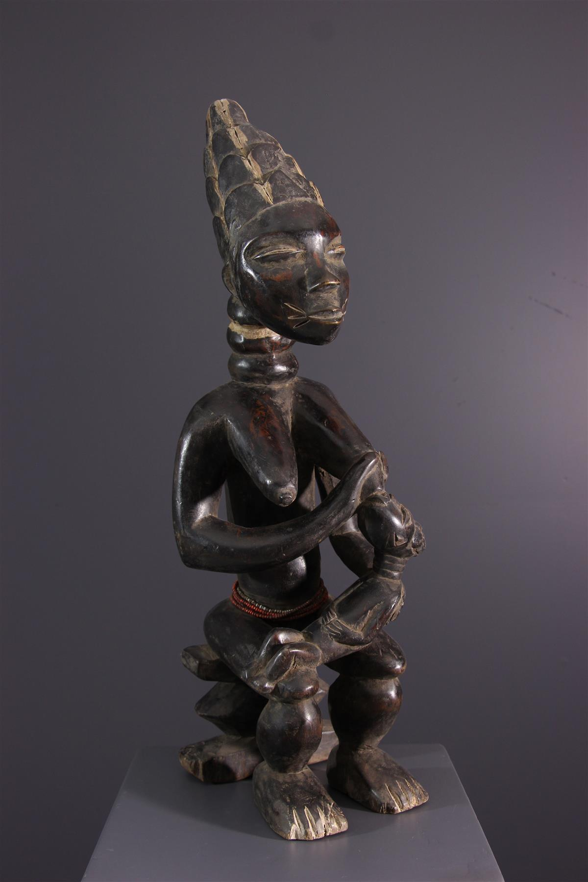 Statue Kulango - African art