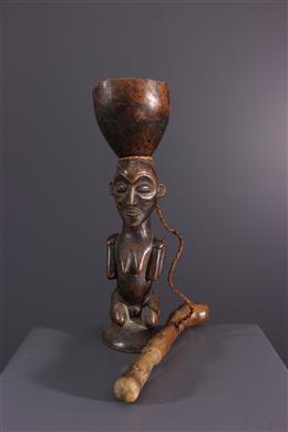African art - Chokwe anthropomorphic cup