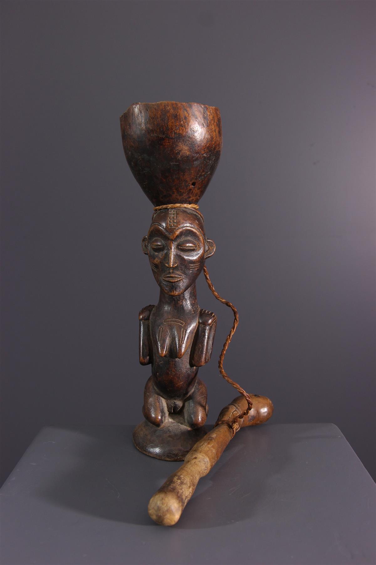 Tabatière Tschokwe - African art