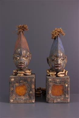 Couple d  Ibeji Yoruba