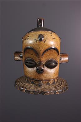 African art - Masque heaume Pende Kipoko, Giphogo