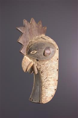 African art - Animal mask Luba Mukisi a kukaya