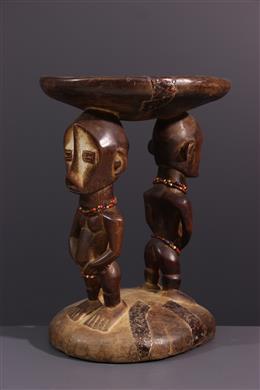 African art - Ngala/Ngombe stool