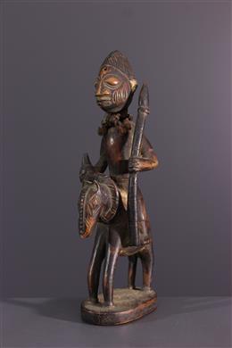African art - Yoruba rider figure