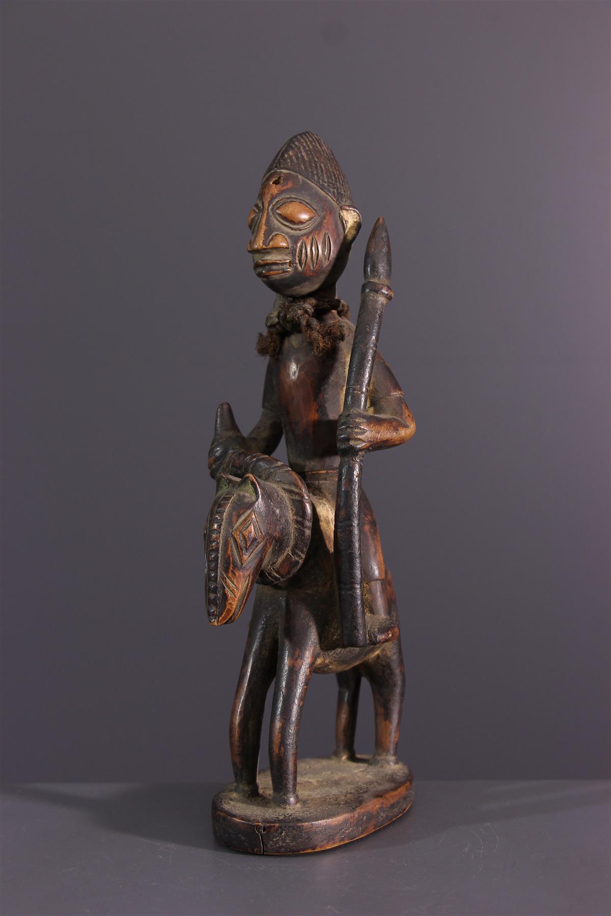 Yoruba rider  - African art