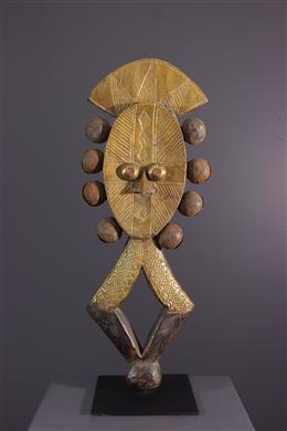 Figure of Reliquary Kota Mbulu-Ngulu