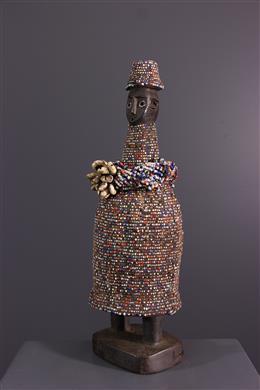 African art - Kikuyu beaded statue