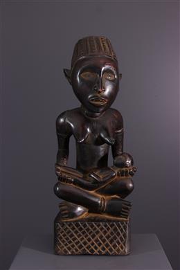 African art - Maternity figure Pfemba Kongo