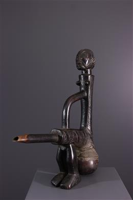 African art - Tabwa Water Pipe