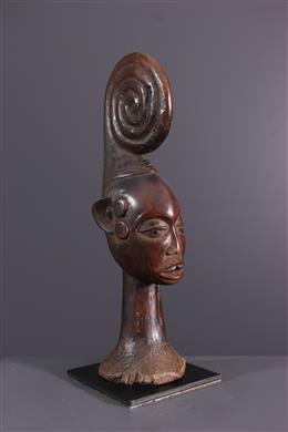 Miniature bust Ekoi Ejagham