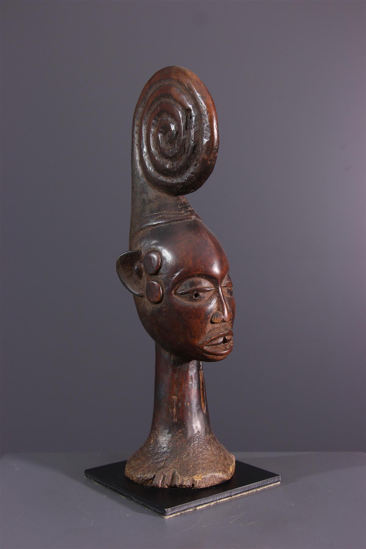 Statuette Ekoi - African art