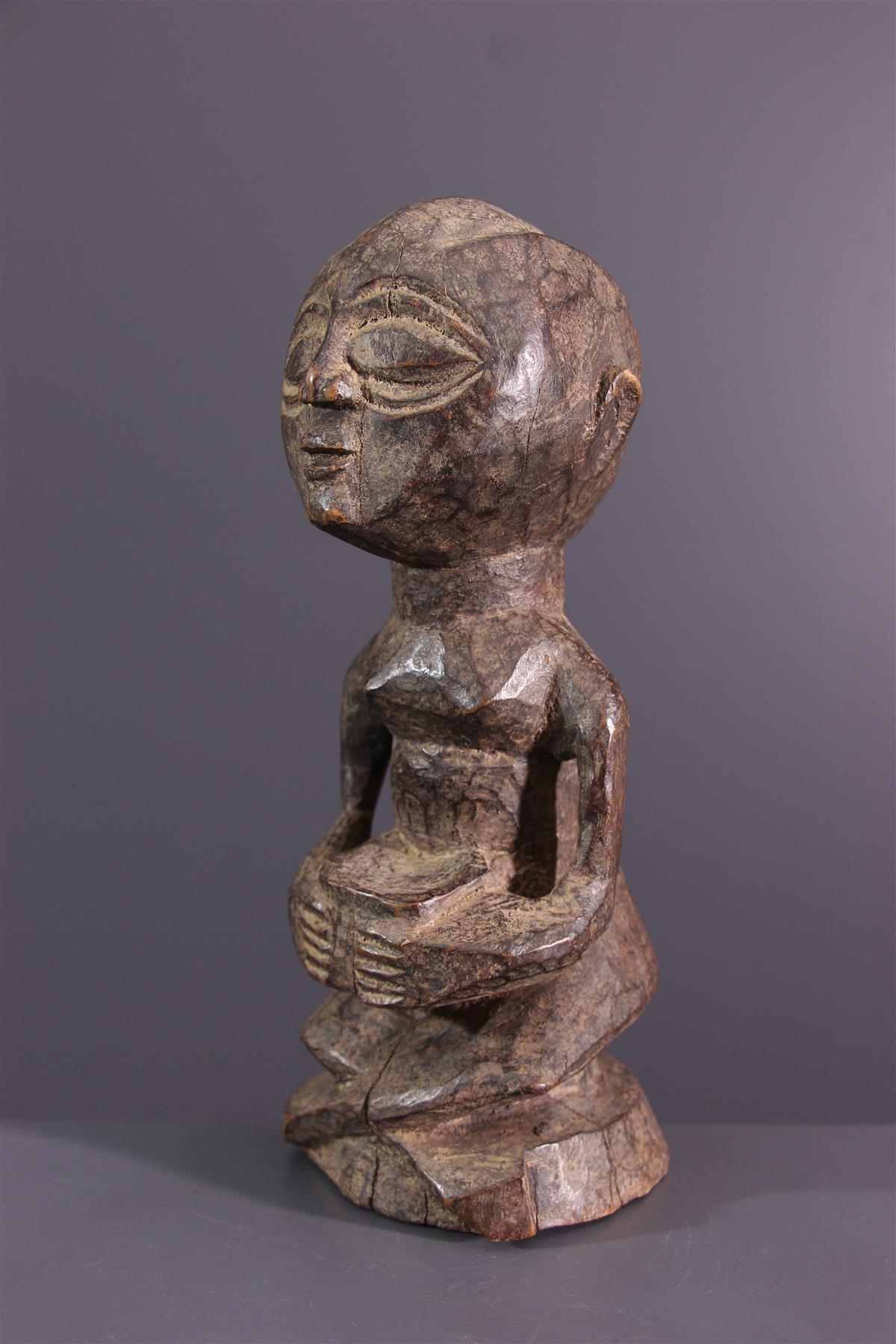 Statuette Rungu - African art