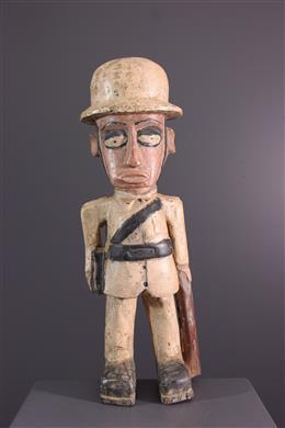 African art - Figure the U+0022colonU+0022 Congo